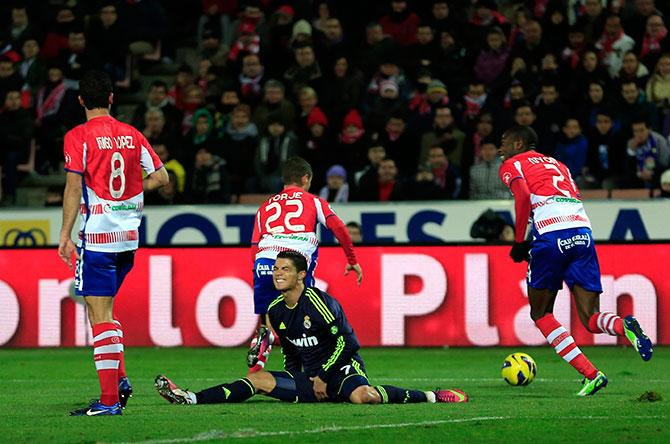 Криштиану Роналду забивал голы всем командам Ла Лиги – в том числе «Реалу».