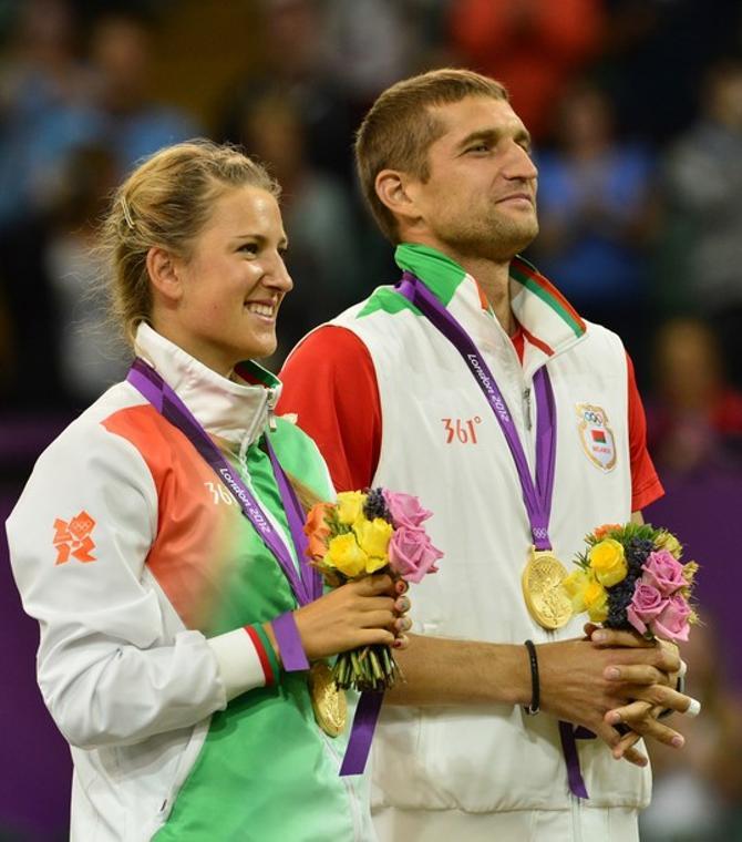 Последние Олимпийские игры Максиму Мирному удалось провести красиво. В том числе и благодаря Виктории Азаренко.