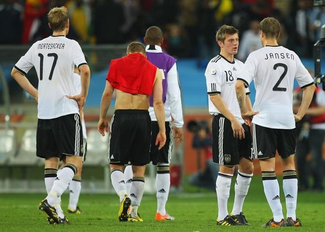 Сборная Германии на этом чемпионате мира была совсем молода.