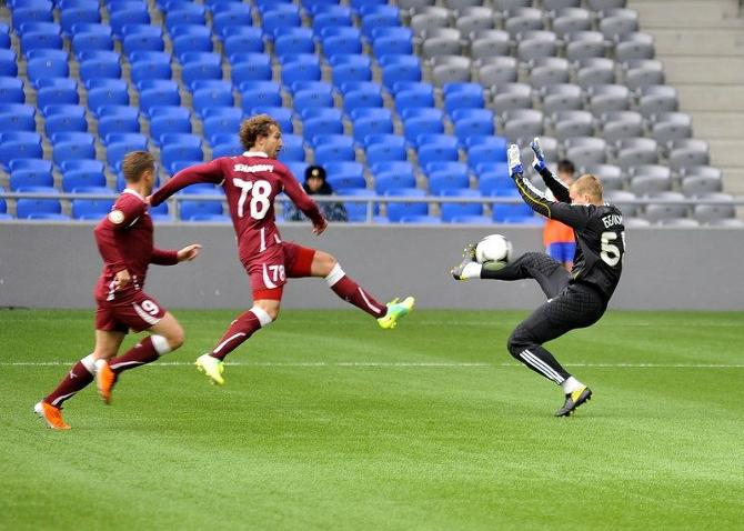 Игорь Зенькович прекрасно чувствует себя в чемпионате Казахстана