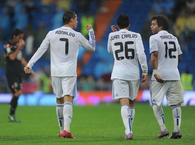 В матче с «Депортиво» Криштиану Роналду забил первым и последним.