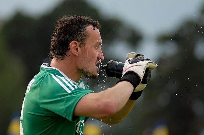 Сергей Веремко сыграл надежно, а несколько раз даже спас свою команду