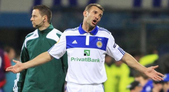 Андрей Шевченко надеется сыграть на домашнем Евро-2012.