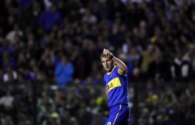 Мартин Палермо забил за свою карьеру много невероятных мячей.