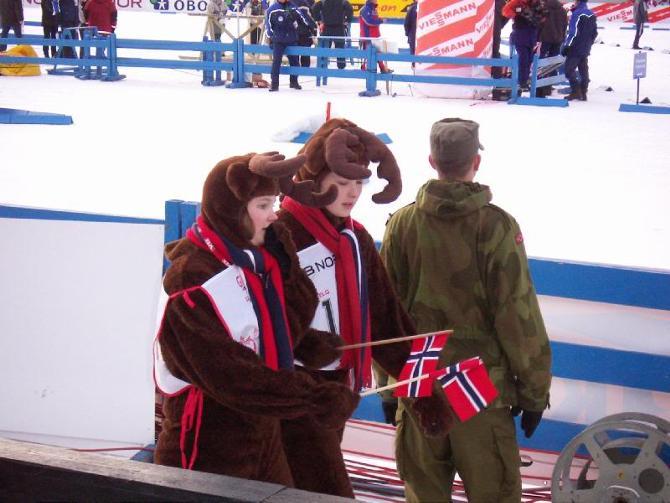 Биатлонисты завершают сезон в Норвегии.