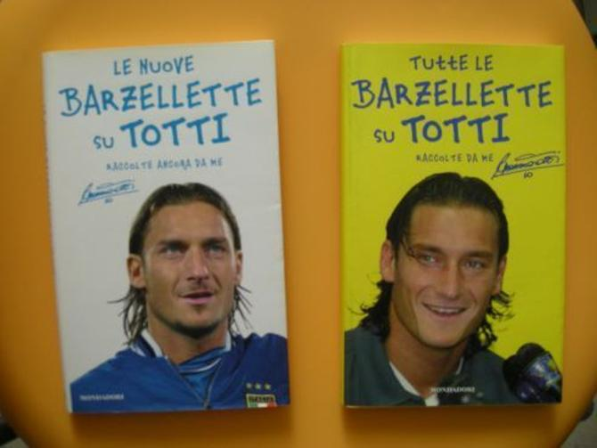 Книга анекдотов про Франческо Тотти до сих пор пользуется спросом.