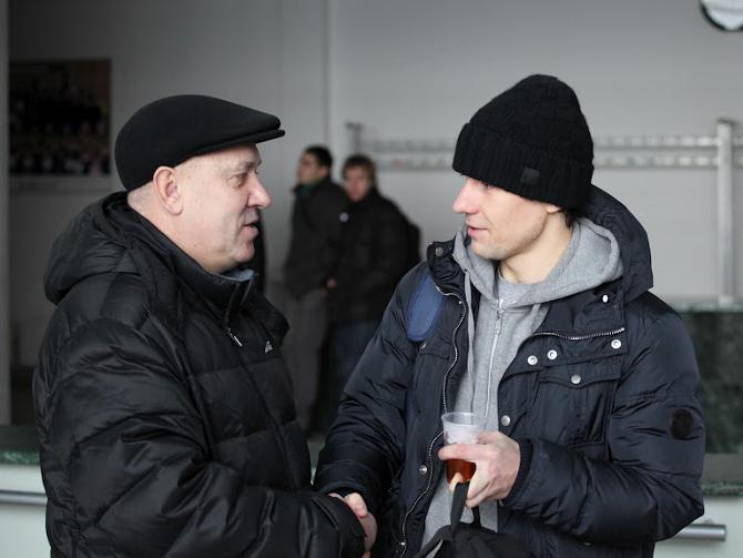 Последний раз Георгий Кондратьев и Сергей Омельянчук общались зимой, когда защитник тренировался с минским