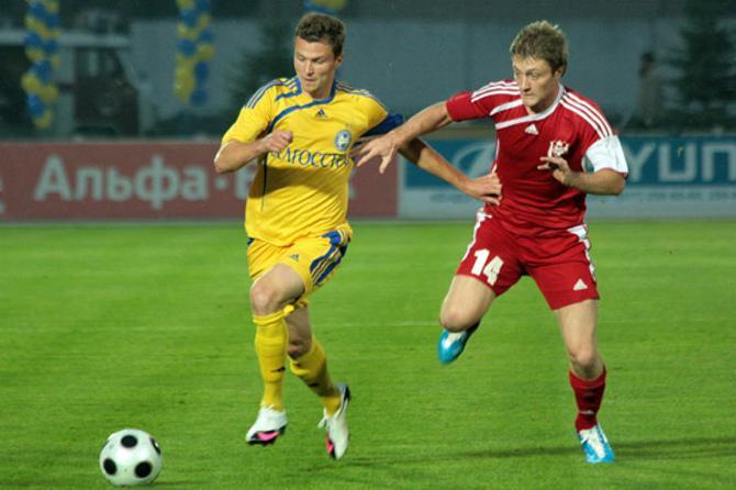 Александр Гаврюшко отгрузил своей родной команде два гола.