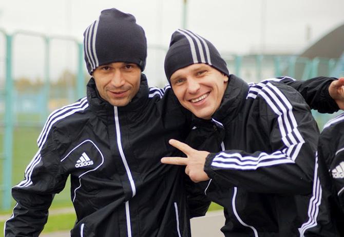 Сергей Кисляк и Ян Тигорев довольны пребыванием в сборной, а также активно побуждают болельщиков к пятничному походу на стадион «Динамо»