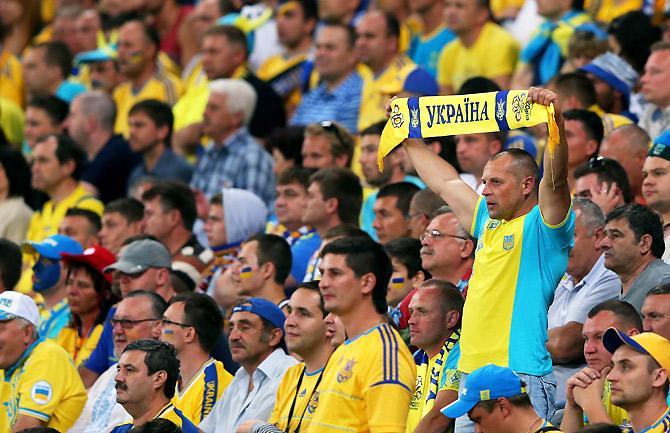 Праздник футбола в Украине.