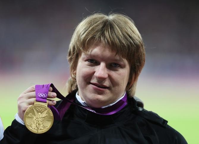 Надежда Остапчук - олимпийская чемпионка!