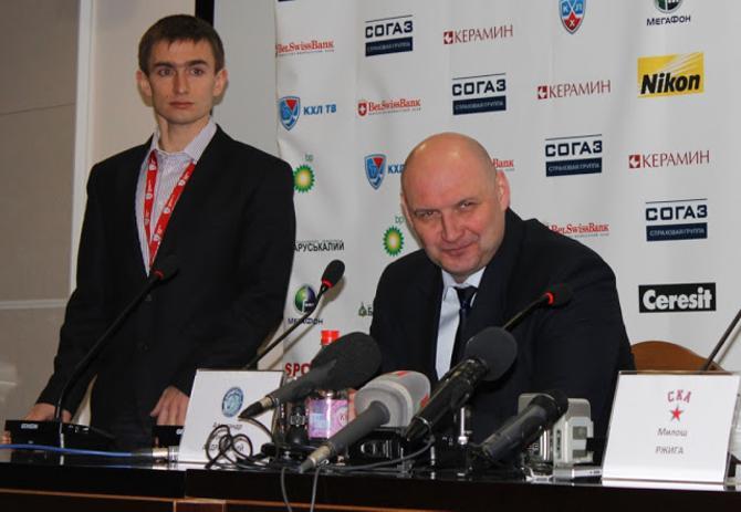 Теперь Роман Стронгин проводит пресс-конференции, а раньше – задавал на них вопросы