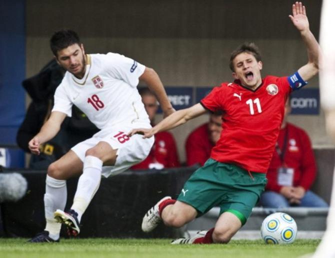 В молодежной сборной Афанасьев был лидером