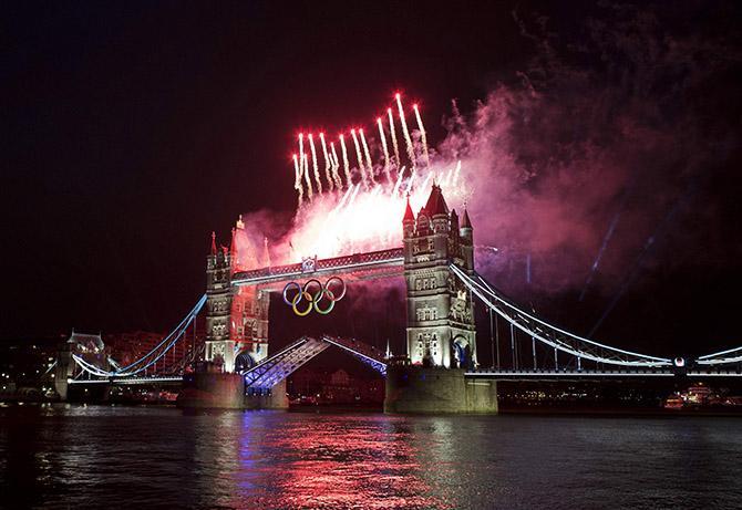 На подготовку к Олимпиаде британцы потратили примерно 14 миллиардов долларов.