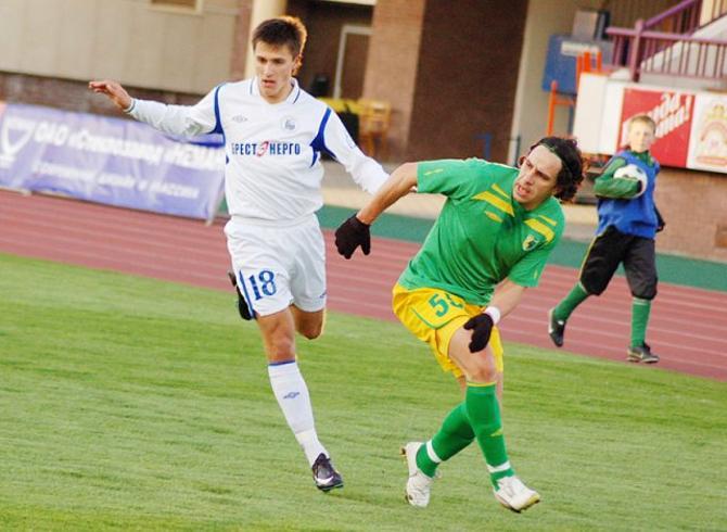 Дмитрий Мозолевский не забил, но сделал многое для того, чтобы команда победила.
