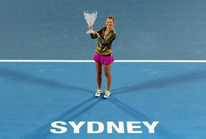 Виктория Азаренко перед Australian Open победила в Сиднее.