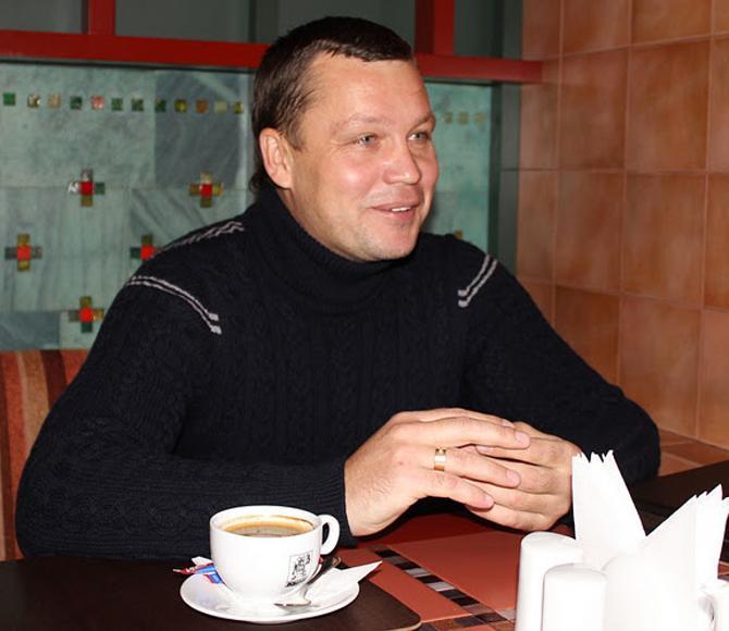 Юрий Свирков первые в жизни испытал счастье после выигрыша Кубка Беларуси