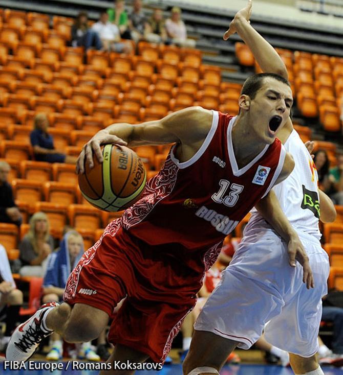 Михаил Малейко родился и начинал заниматься баскетболом в Минске, но сейчас играет за сборную России
