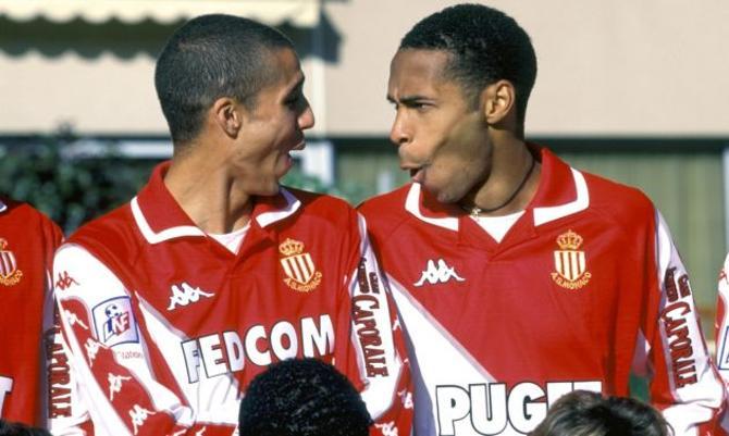 Тьерри Анри когда-то играл за «Монако». А вы это помните?