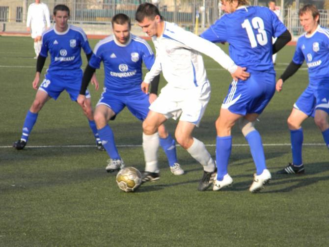 Юрий Королюк понимает, что высшая лига и первая - разные турниры.