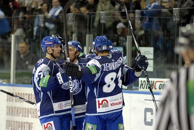 Победа над «Сибирью» стала третьей подряд для минчан.
