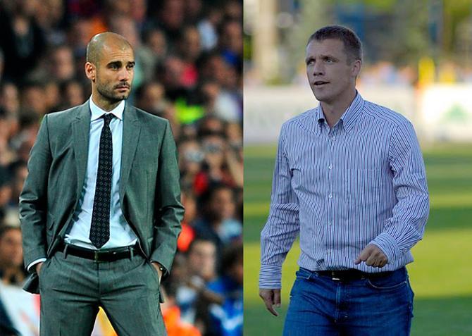Хосеп Гвардиола и Виктор Гончаренко - самые успешные тренеры последнего десятилетия в своих странах