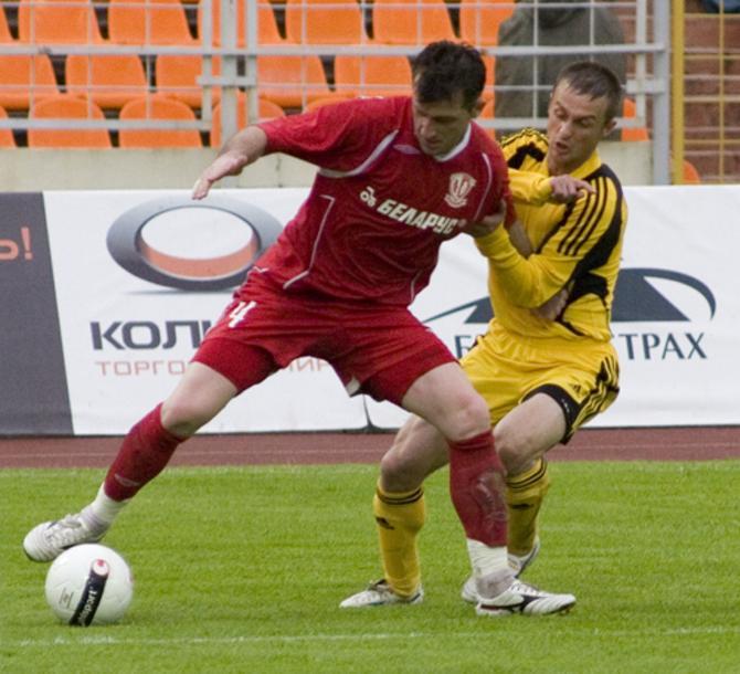 Валерий Стрипейкис выделяется на поле не фактурой, а голевым чутьем