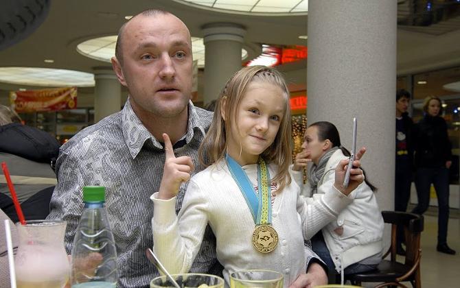 Главная награда Павла Беганского -- дочка Настя