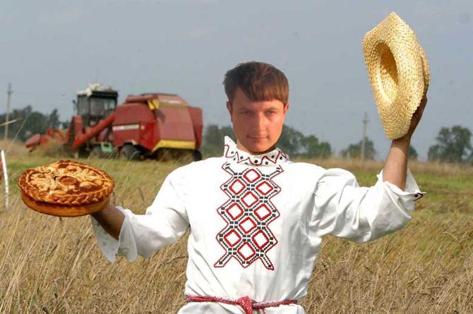 Оказывается, белорусские спортсмены очень даже интересуются сельским хозяйством