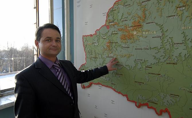 Дмитрий Рябов знает, какая погода будет в каждом уголке Беларуси.