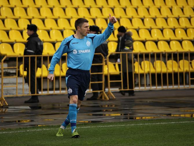 Несмотря на шикарную игру Александра Данилова, «Динамо» не смогло увезти из Солигорска три очка