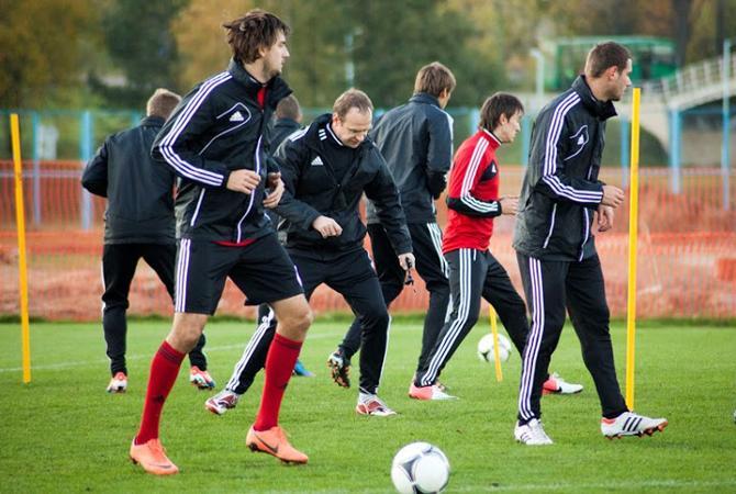 Белорусские сборники завершили подготовку к матчу с испанскими