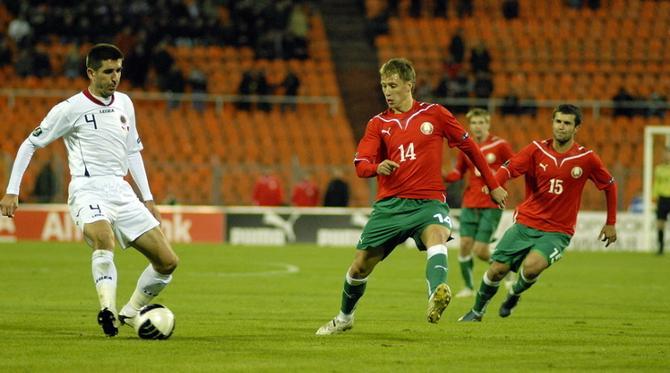 Антон Путило - самый техничный футболист Беларуси по мнению Николая Шпилевского.