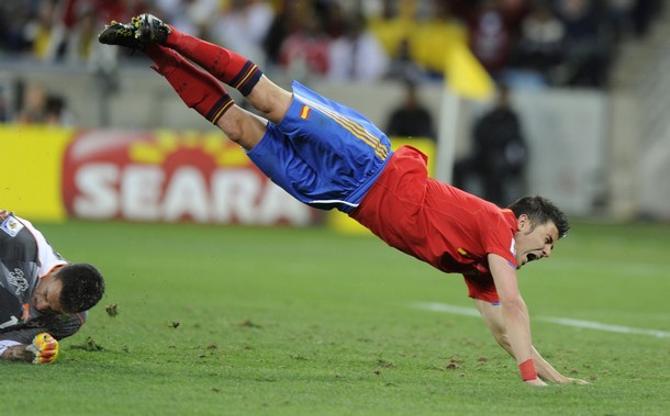 Спикирует ли Давид Вилья вместо со сборной Испании в плей-офф?