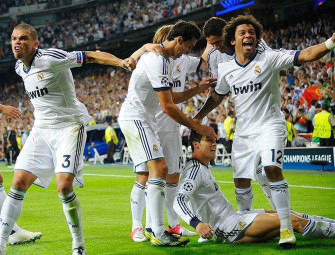 «Реал» одержал победу в сумасшедшем стиле