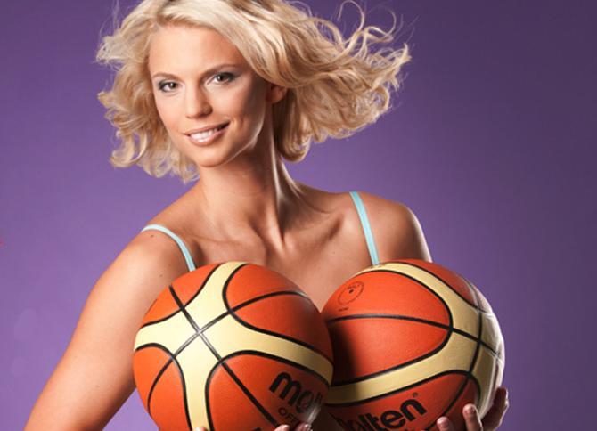 Татьяна Троина хороша не только на баскетбольной площадке.
