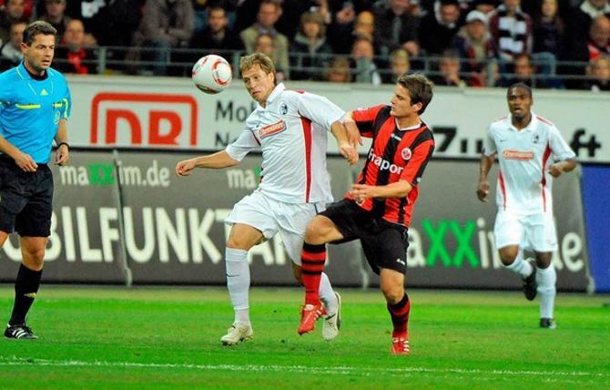 Антон Путило провел первый матч в составе «Фрайбурга».