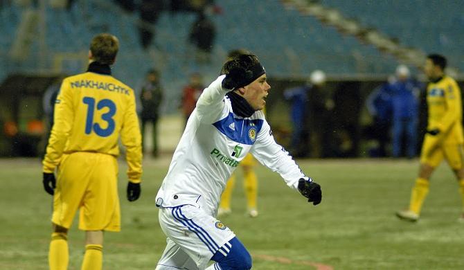 Вукоевич забил первый гвоздь