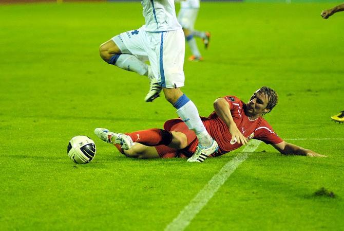 Оптимизм в матче с Боснией закончился внезапно