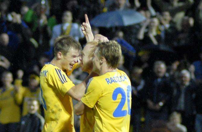 Александр Павлов впервые забил на борисовском стадионе.
