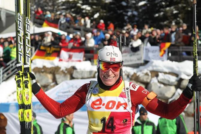 Тура Бергер совершила фантастический прорыв на первое место.
