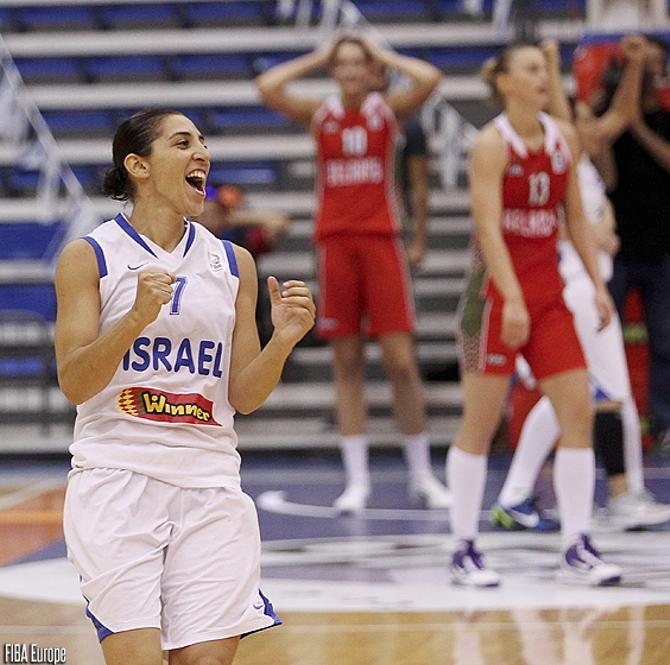 Израильтянки обыграли Беларусь самым невероятным образом