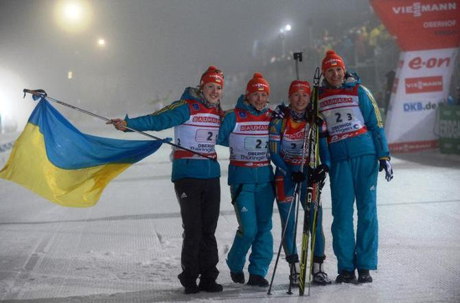 Пока сборная Беларуси зарабатывала штрафные круги, сборная Украины шла к победе.