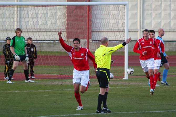 Николай Бранфилов забил во втором матче подряд
