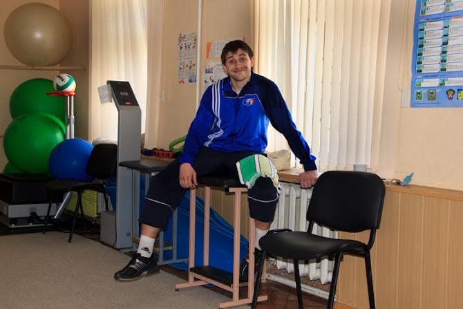 Несмотря на травму, Василий Содько сохраняет оптимизм