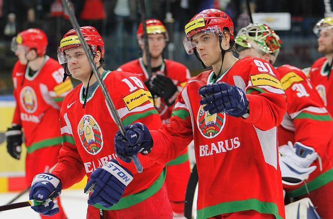 Несложная победа над французами не заставила белорусских хоккеистов фонтанировать эмоциями