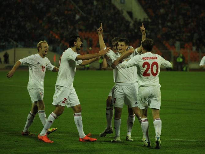 С футболом вторничных образцов белорусы вправе рассчитывать на итоговое третье место группе