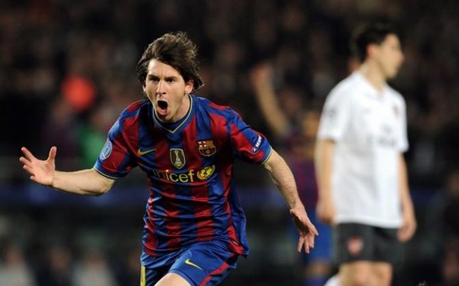 Лионель Месси в 23 года забил уже 150-й гол...