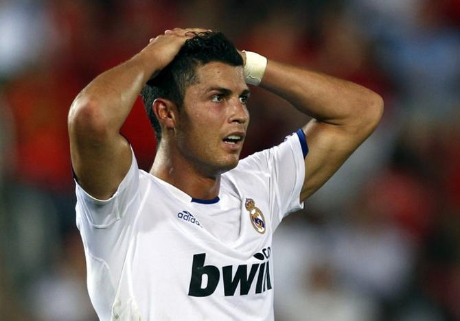 Криштиану Роналду не понимает, какзвездный «Реал» не сумел забить скромной «Мальорке».