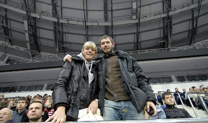 Константин Ефремов выбирается с женой в Минск для того, чтобы посмотреть хороший баскетбол
